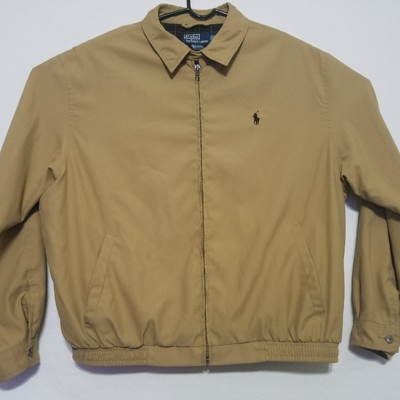 select for newest genuine shoes reputation first Vintage Ralph Lauren Men's Bomber Jacket Khaki XL
